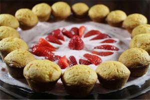 Strawberry Cream Cheese Cake Bites