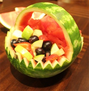 Watermelon Fruit Basket - Brain Booster Food