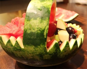 Watermelon Fruit Basket - Brain Boosting Exam Food