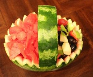 Watermelon Fruit Basket - Best Food for Exams