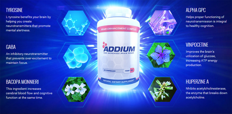 Brain Booster Pill Addium & Ingredients